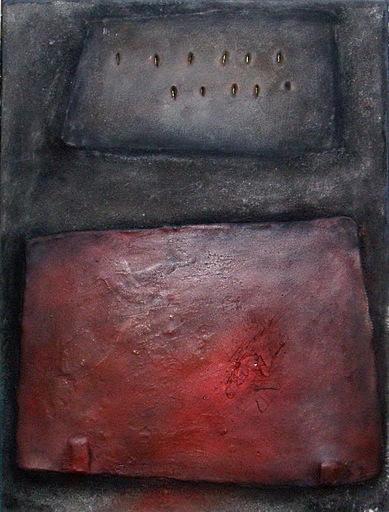 Leopoldo NOVOA - Pintura -  2 Cuadrongles ( París 2000)