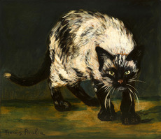 Francis PICABIA - Pintura - Le chat