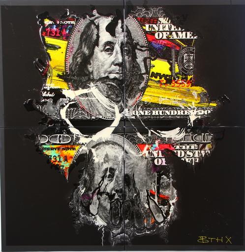 BTHX - Gemälde - NEW YORK-NEW YORK/BLACK EDITION