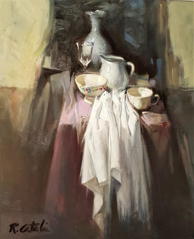 Rafael CATALA ALCON - Pintura - En Rosa