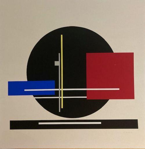 Jean Albert GORIN - Stampa-Multiplo - Sans titre
