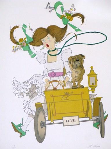 Philippe Henri NOYER - 版画 - Love