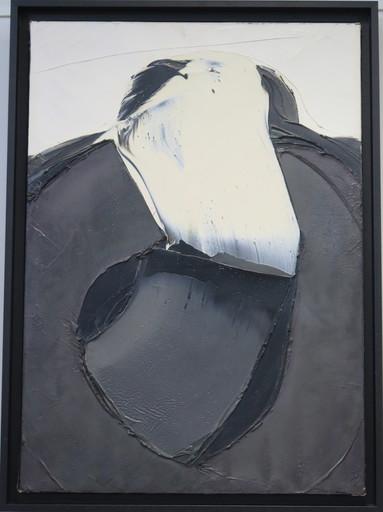 Jan MEIJER - Peinture - Champ aride