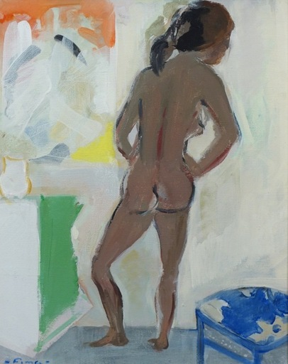 FIMA - Painting - Nude (the Artist's Wife)
