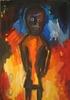 Helmut MIDDENDORF - Gemälde - African puppet, 1989