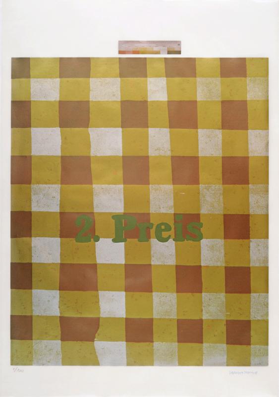 Martin KIPPENBERGER - Grabado - 2.Preis