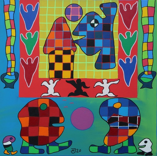 Michael JANSEN - Painting - Euphorie