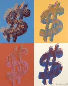 Andy WARHOL, Dollar Sign (Quad)