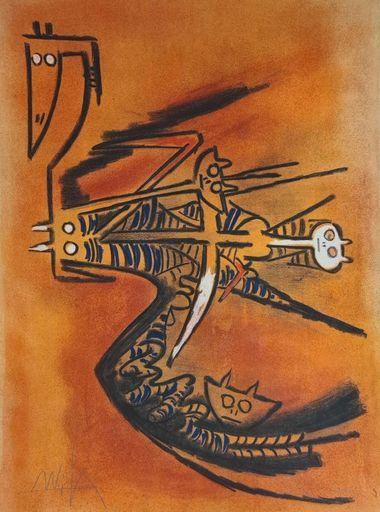 维夫里多•拉姆 - 版画 - PLENI LUNA