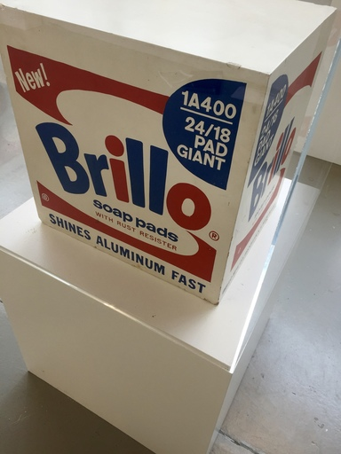 Andy WARHOL - Escultura - Brillo Soap Pads Box 1968 Stockholm Type