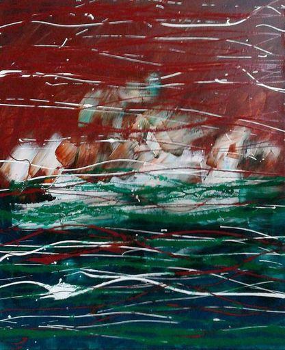 Marie Edmée SEGUIN - Painting - La Nuit des Temps N°65