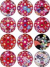 Takashi MURAKAMI (1962) - Flowerball (3D) - Turn Red!/ Flowerball (3D) - Papyrus/ Flow