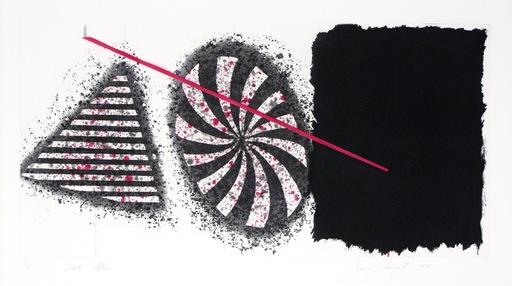 James ROSENQUIST - Print-Multiple - Black Star