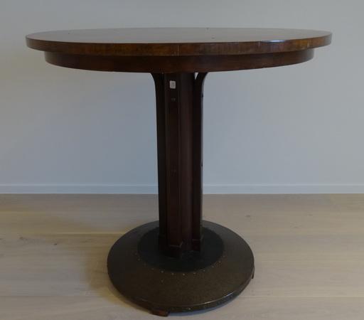 Michael THONET - table de bistrot Wien ronde