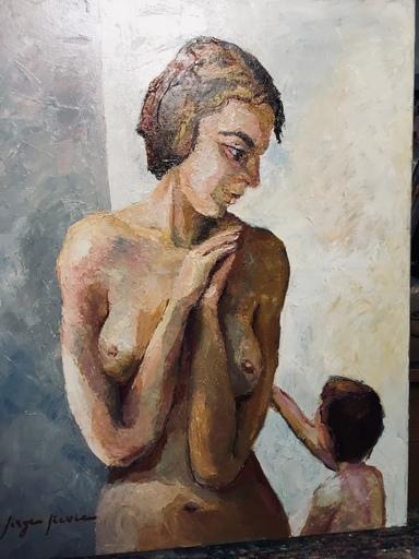 Serge SIEVIC - Peinture - Tendresse