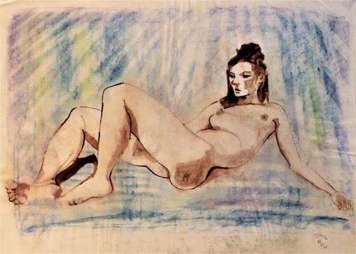 R.CAVALIÉ - Drawing-Watercolor - Anastasis