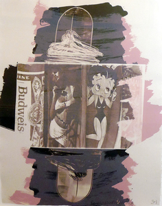 Robert RAUSCHENBERG, Hollywood Sphinx - Illegal Tender L.A.