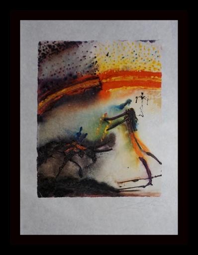 Salvador DALI - Estampe-Multiple - Tauromachie (Bullfight II) #4