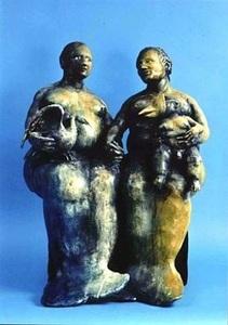 Jorge MARÍN - Sculpture-Volume - Mujeres