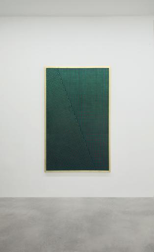 Mario NIGRO - Pittura - Strutturazione simultanea-cinetica con variazione