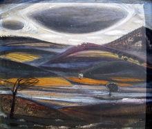 José Maria DE LABRA - Painting - paisaje