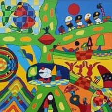 Michael JANSEN - Gemälde - Wanderschaften