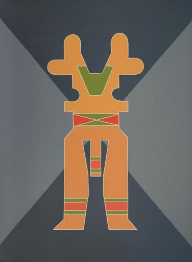 Enrique Rodriguez GUZPENA - Painting - Apunte de nueve musicas
