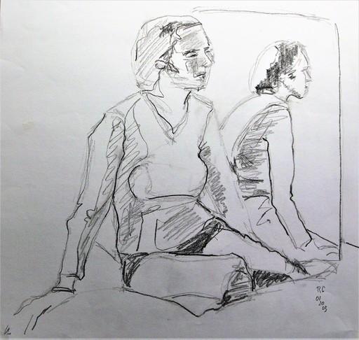 R.CAVALIÉ - Dibujo Acuarela - N.R. 147