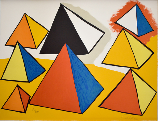 Alexander CALDER - Print-Multiple -  Composition IX, from The Elementary Memory | La mémoire élé