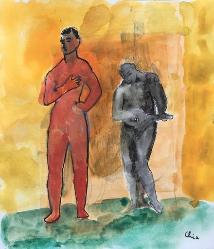 Sandro CHIA - Peinture - senza titolo