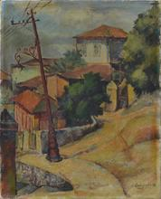 Alexander Alexandrov OSMERKIN - Pintura - Cityscape
