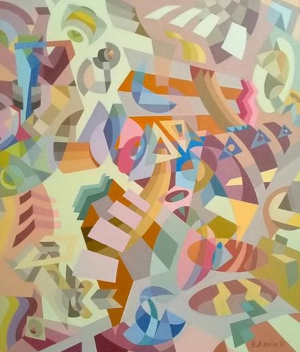 Victor DEMIN - Pintura - The metaphysical tune.