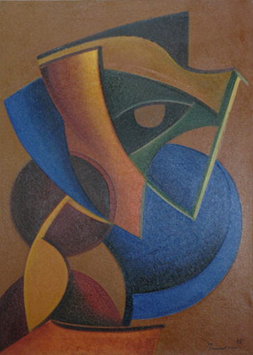 Salvatore PROVINO - Peinture - Geometrie