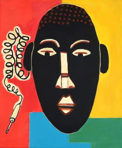 Richard BOIGEOL - Gemälde - Masque Africain
