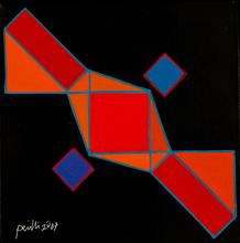 Achille PERILLI - Painting - Zopa