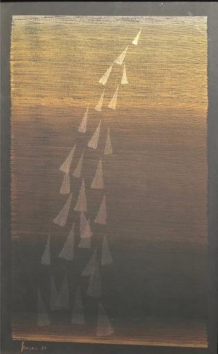 Eusebio SEMPERE - Painting - Lluvia