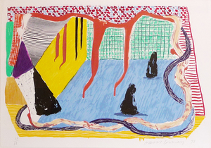 David HOCKNEY, Ink in the Room
