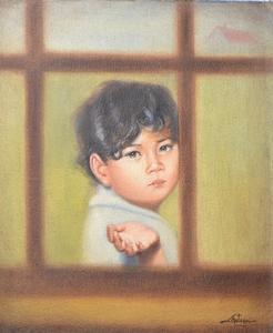 Juan LOPETEGUI - Painting - At the Window