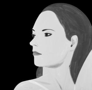 Alex KATZ - Grabado - Laura 5