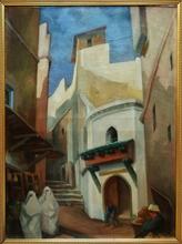 Jules LERAY (1875-1938) - Mosquée et casbah d'Alger