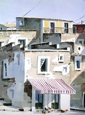 Lino CASADEI - Drawing-Watercolor - La bottega