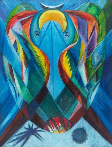 Mario ABREU - Gemälde - Sol petrificado