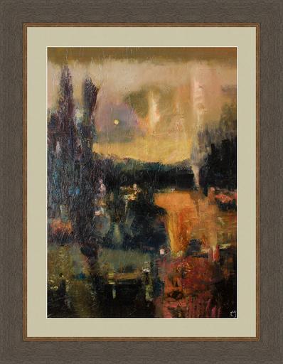Levan URUSHADZE - Peinture - Afternoon landscape