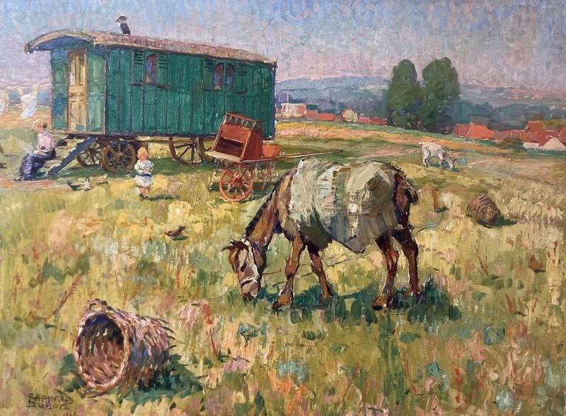 Raphaël DUBOIS - Gemälde - Jour d'été