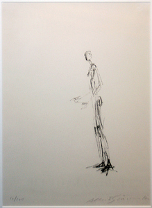 Alberto GIACOMETTI, MAN STANDING (HOMME DEBOUT)