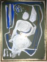 Francisco BORES - Dessin-Aquarelle - PERSONNAGE