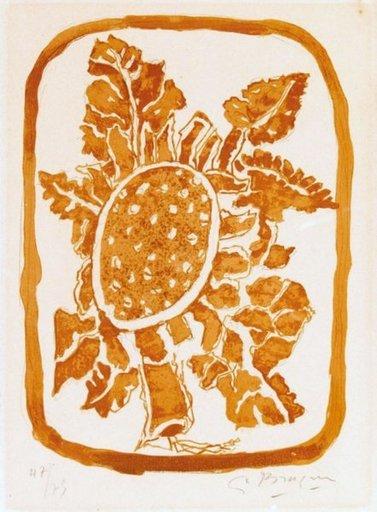 Georges BRAQUE - Print-Multiple - Fleurs d'Automne