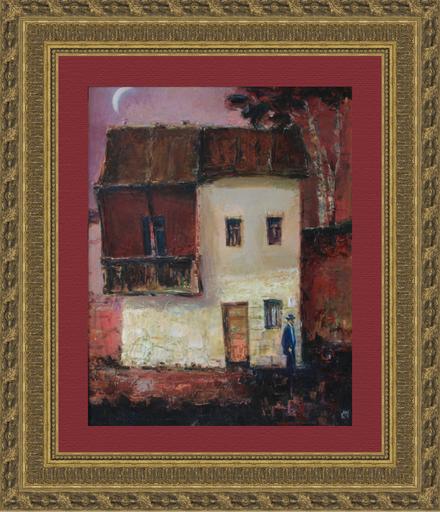 Levan URUSHADZE - Pittura - Red house