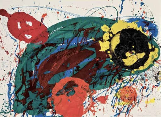 Sam FRANCIS - Estampe-Multiple - For thirteen