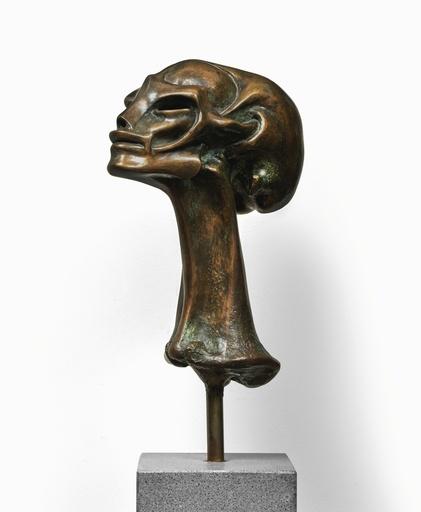H.R. GIGER - Sculpture-Volume - HR Giger: small female head